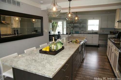 Colonial White Granite Kitchen Photos