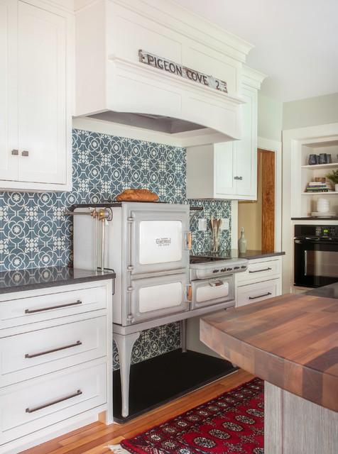 Rockport, MA  Historic Farm House rustic-kitchen