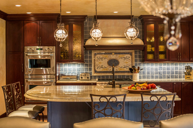 Rockville Centre Traditional Kitchen new york by Keith Mazzei Interiors