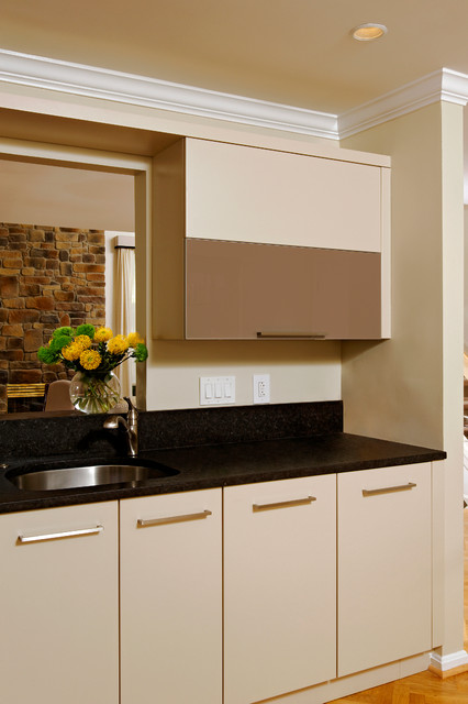 Rockville maryland modern kitchen design with black backsplash modern kitchen dc metro - Kitchen designers in maryland ...