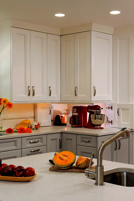 Rockville Maryland Traditional Kitchen Design with