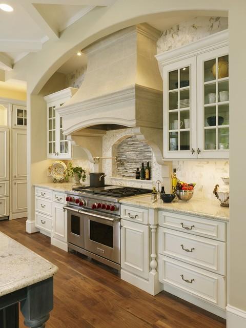 Rockville White Granite : Rockville md kitchen renovation traditional