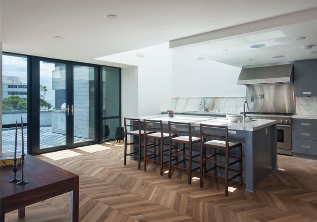 Rockwell on Sunset contemporary-kitchen