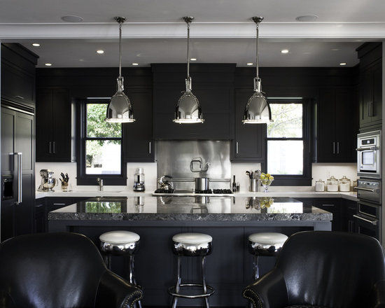 878,985 Black Kitchen Home Design Photos Part 49