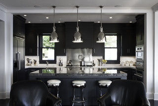 Rocky Ledge Kitchen contemporary kitchen