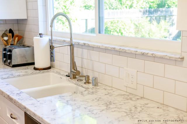Rococo Countertop - Modern - Kitchen - sacramento - by Kitchen Mart