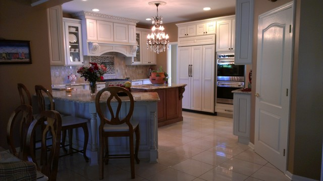 Rodriguez residence traditional-kitchen