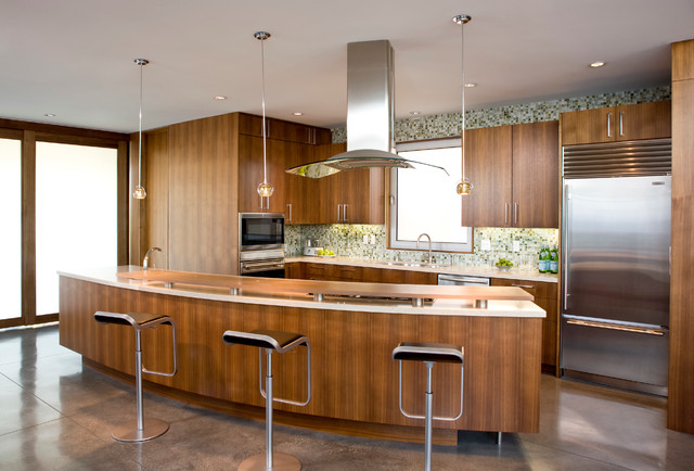 Rogers sturz residence modern kitchen los angeles - Maison rogers sturz michael lee architects ...