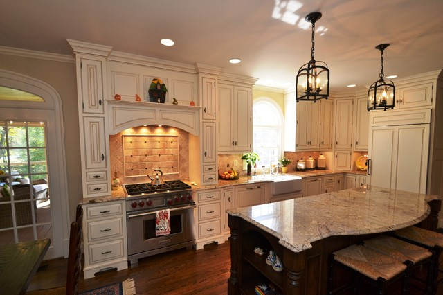 Roland Court Kitchen traditional-kitchen