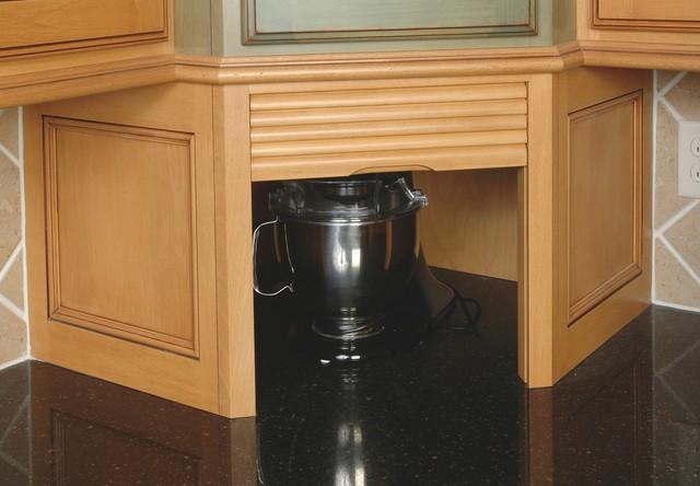 Rolltop Appliance Garage - Traditional - Kitchen ...