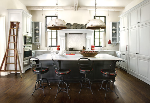 Architect D. Stanley Dixon & designer Betty Burgess use San Marco for winner eclectic kitchen