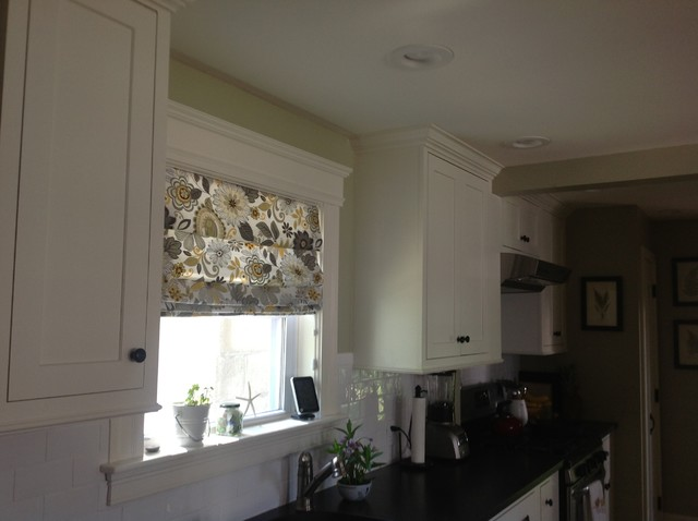 Roman Shade Traditional Kitchen Other By Not Just