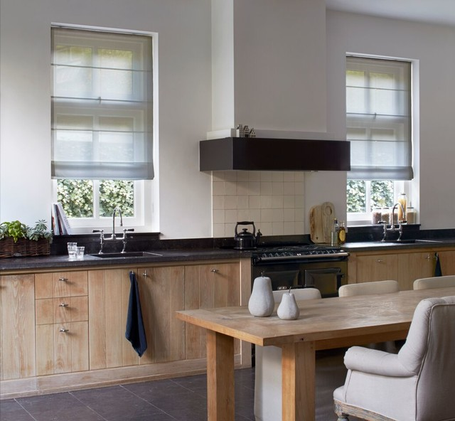 Roman Shades For Kitchens