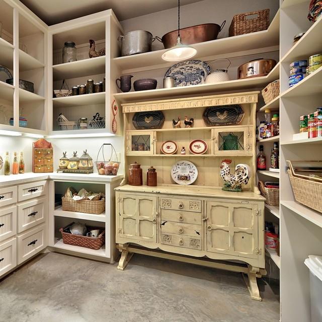 Romantic Hill Country Dream - Farmhouse - Kitchen - Austin - by Schmidt Custom Homes