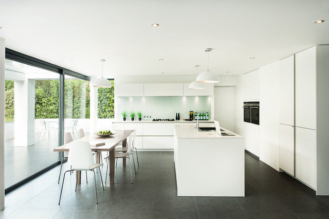 Romsey Road contemporary-kitchen