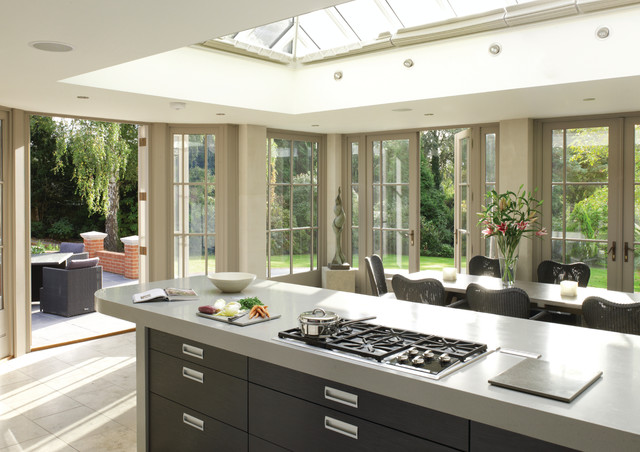 promo code a132b f294a Roof lantern over kitchen - Modern - Kitchen - Kent - by ...