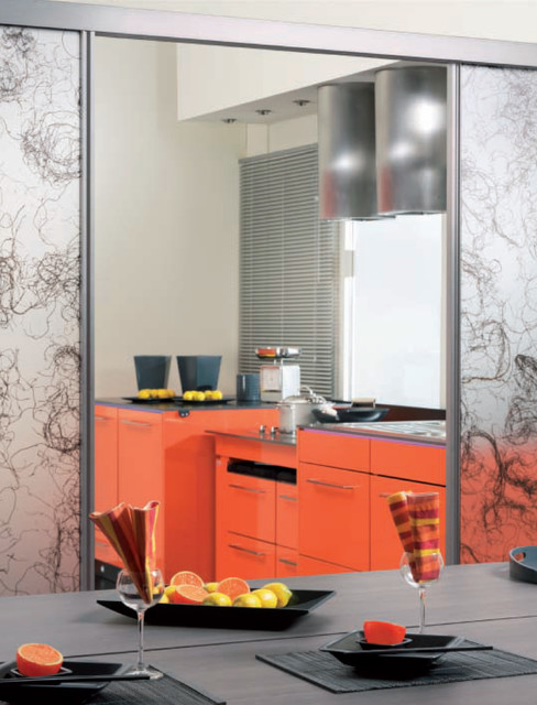 Room Dividers Kitchen New York By Sliding Door By