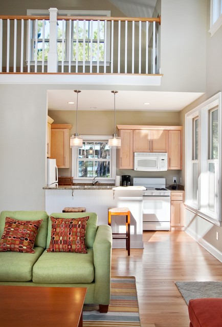 room for everyone modern k che charleston von. Black Bedroom Furniture Sets. Home Design Ideas