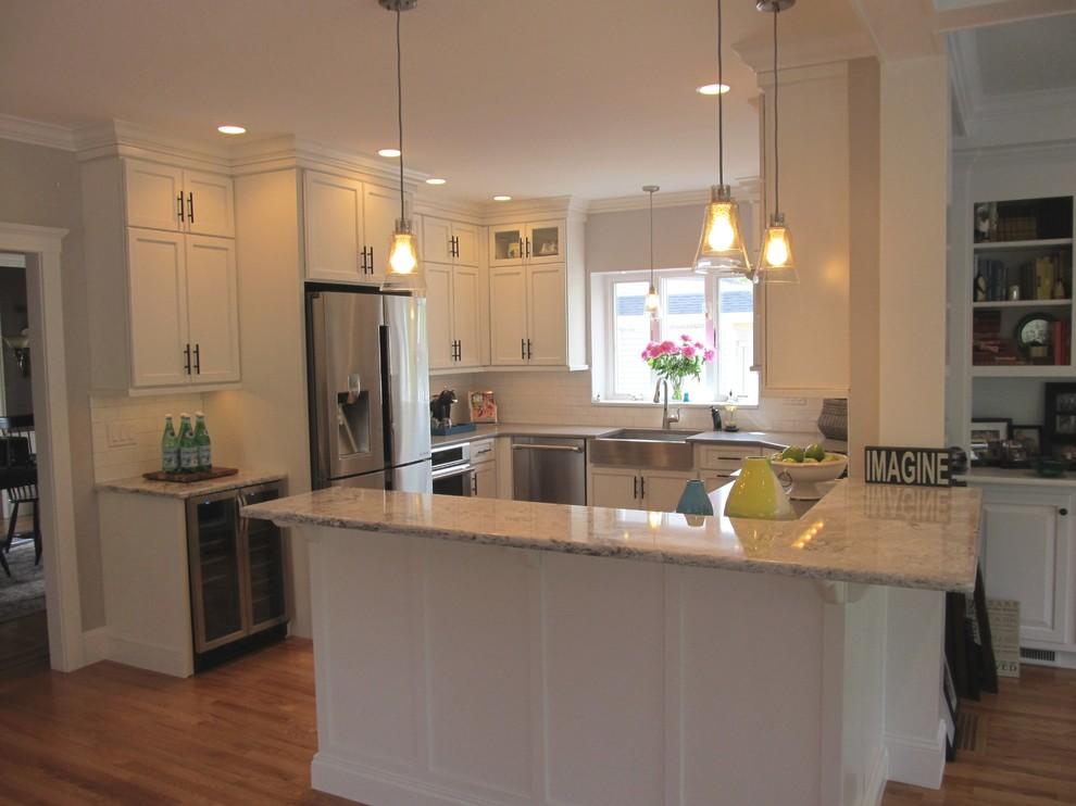 Kitchen photo in Boston