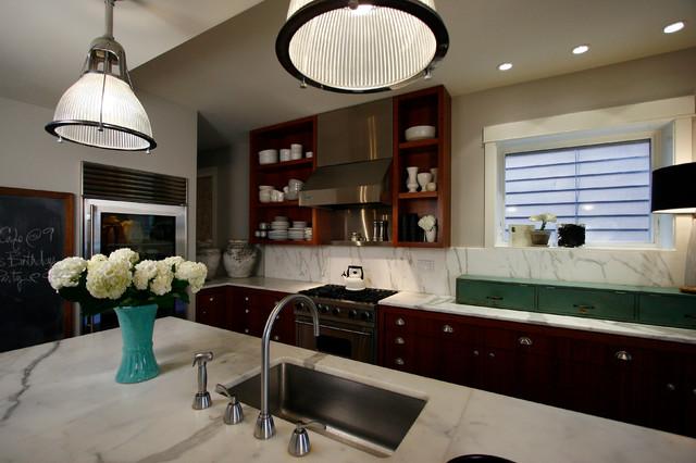 Roscoe Village Residence contemporary-kitchen
