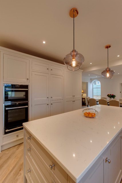 Rose cottage kitchen and extension transitional for Cottage kitchen extensions