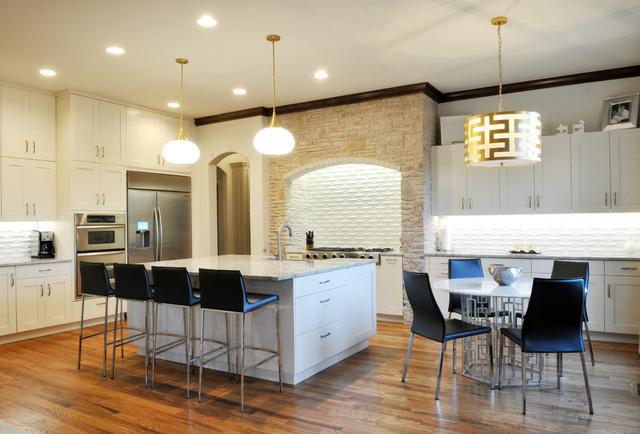 Rose Creek Kitchen Design By Urban Kitchens Contemporary Kitchen Oklahoma City By