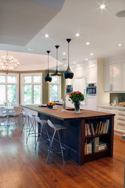 Rosedale Transitional Kitchen Traditional Kitchen Toronto By Yorkville Design Centre