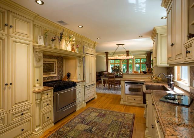 Rosenberg Residence traditional-kitchen