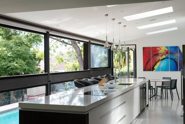 Roseville renovation  Contemporary  Kitchen  sydney  by Leung