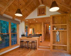 Ross Guest Cabin eclectic-kitchen