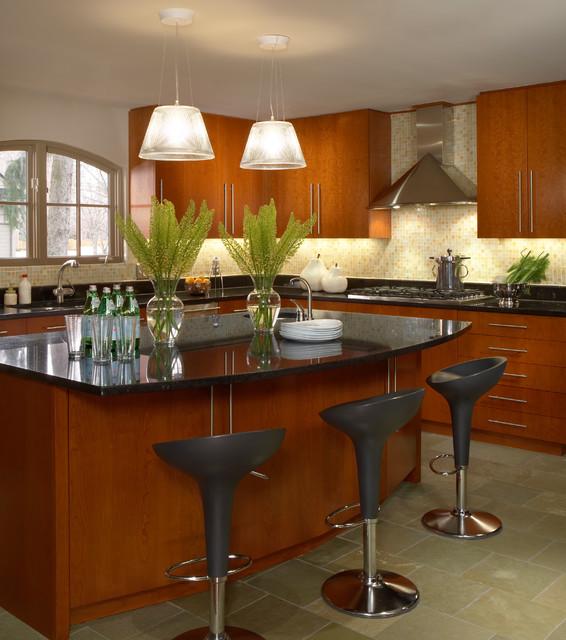 Rosseau contemporary-kitchen