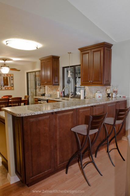 Rossi waypoint zelmar home remodel traditional for Zelmar kitchen designs