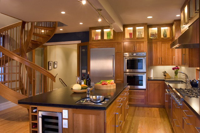 rossington architecture transitional kitchen