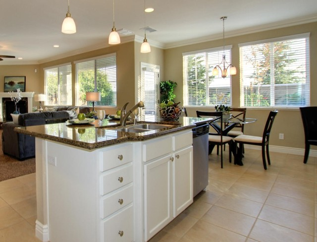 rossmere redesign for resale  transitional  kitchen