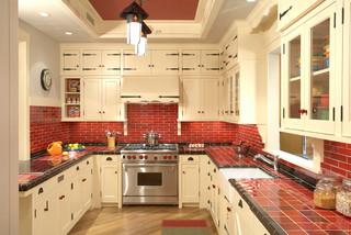 Roth Showroom Rustic Kitchen Minneapolis By David Heide Design Studio