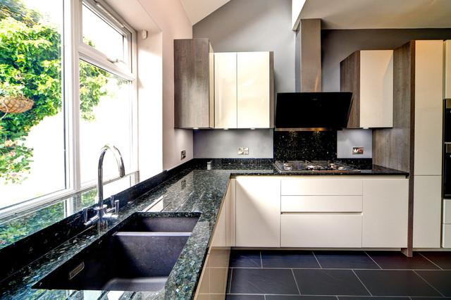 Rotpunkt Kitchen Design And Installed In Bramhall Cheshire Contemporary Kitchen