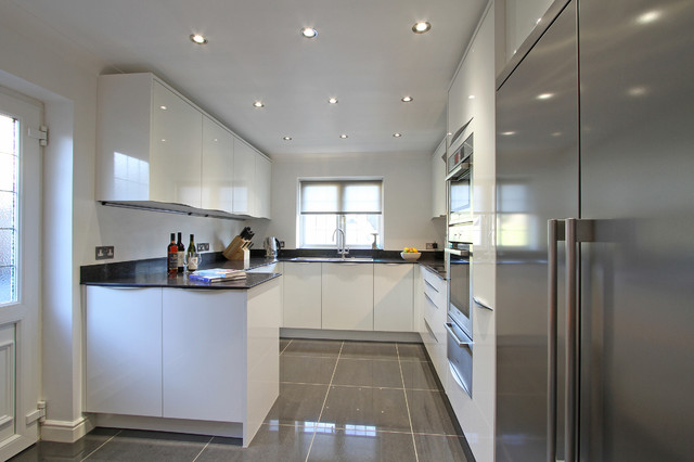 Rotpunkt Lucido White High Gloss Kitchen Contemporary