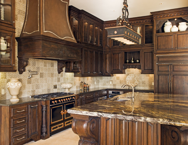 Rough Hollow Kitchen mediterranean kitchen