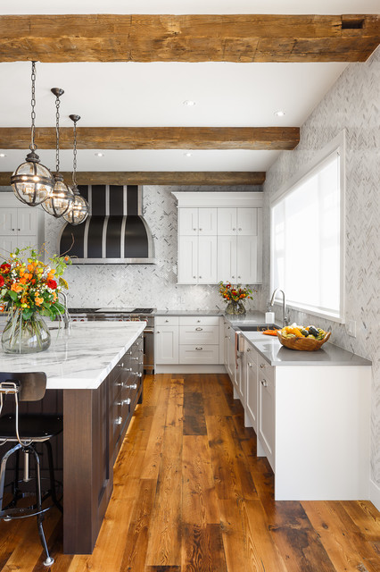 Rough luxe residence ottawa astro design centre for Kitchen designs ottawa