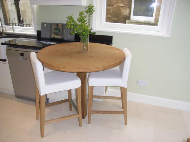 round oak breakfast bar - Contemporary - Kitchen - Other ...