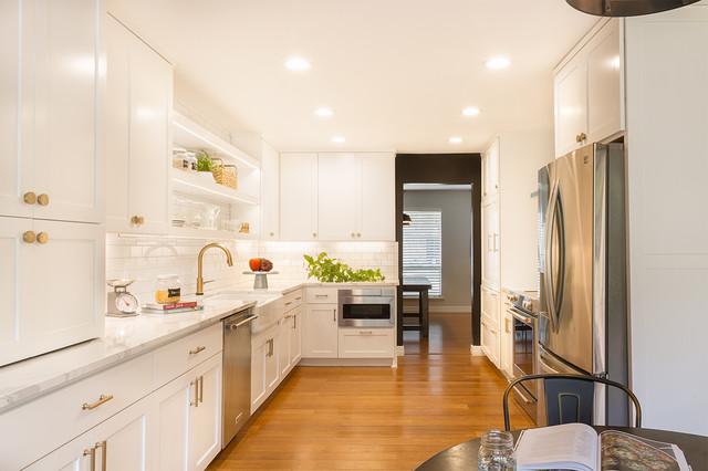 Round rock west remodel transitional kitchen austin for Kitchen remodeling round rock