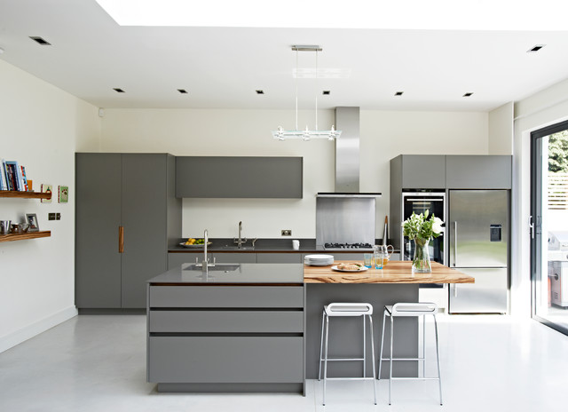 Roundhouse contemporary kitchens contemporary kitchen for Modern kitchen london