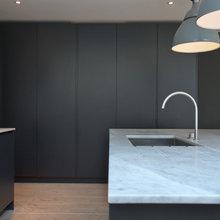 Roundhouse grey kitchens