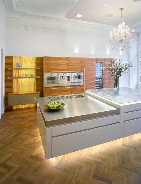 Roundhouse kitchen materials contemporary-kitchen