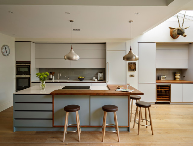 Roundhouse kitchen work tops contemporary-kitchen