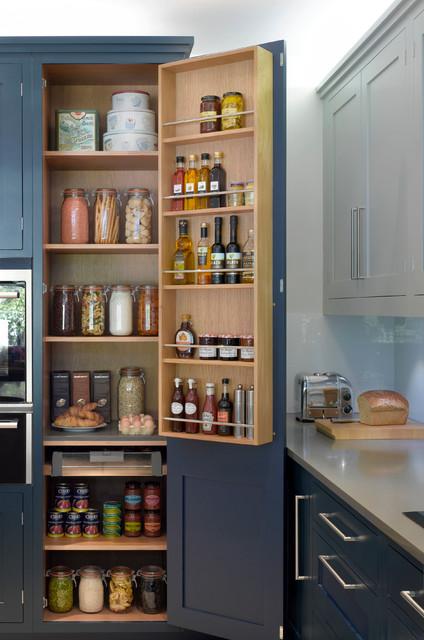 Roundhouse pantries & larders contemporary-kitchen