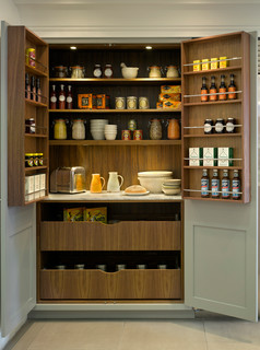 Roundhouse pantries & larders - Transitional - Kitchen - London