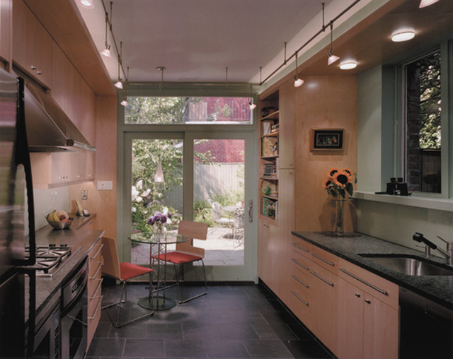 Philadelphia Kitchen Remodeling Property Row House Kitchen And Bath Renovation  Contemporary  Kitchen .