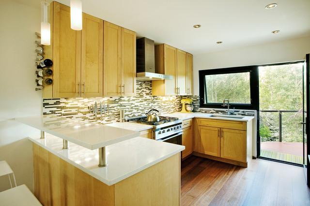 modern kitchen by S2 Architects