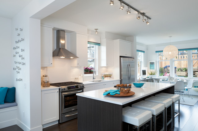 Roxton - Contemporary - Kitchen - Vancouver - by Portico Design Group